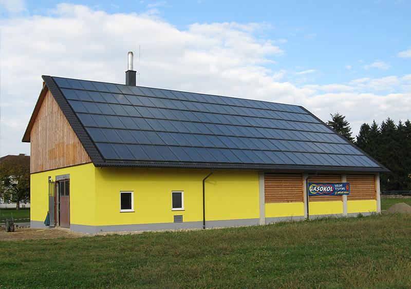 Biomasseheizwerk Saxen GASOKOL